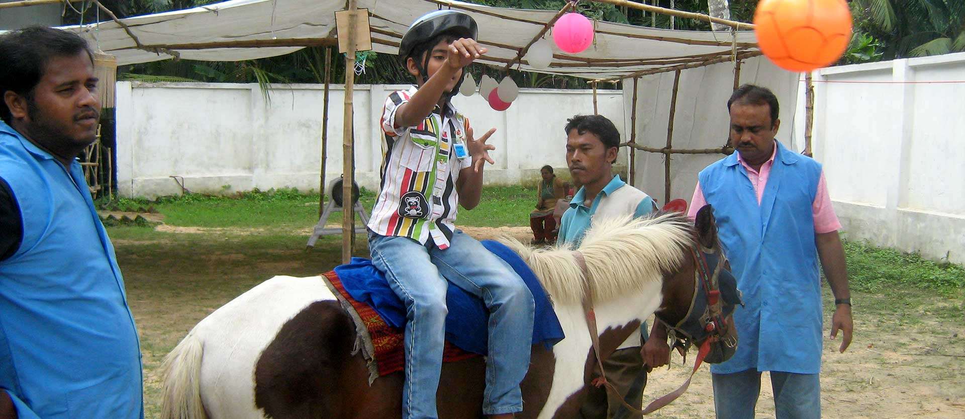 2014 INDIA, Horse Therapy Project